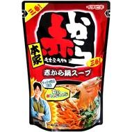 【出清特惠】ichibiki 本家赤鍋湯底-小辣(750g)