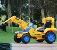 電動挖掘機玩具兒童遙控挖掘機可坐可騎大號電動挖土機 全館免運LX 居家生活節
