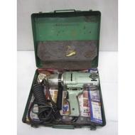 中古/二手 6分角 電動板手/套筒板手-日立- EW-22A -附鐵箱- 日本外匯機(M268)