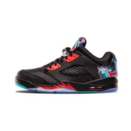 Nike Air Jordan Nike 5 Retro Low Chinese Kite Red Basketball Shoes