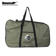 """RHINOWALK 12""""  folding Bike Carrying bag bike luggage bag Olive"""