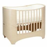 *babygo*丹麥 Leander 嬰兒成長床 【水洗木色】-內含床墊+成長套件