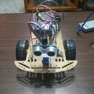 arduino 避障 藍牙避障 自走車 成品 專題製作 arduino專題 藍牙 藍牙遙控 手機遙控  藍牙避障自走車
