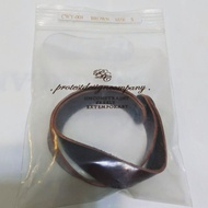 香港protest PDC 手環 全新 咖啡色皮革 brown leather band Hong Kong new
