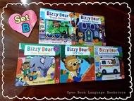 SET B Bizzy Bear collection books  1 set of 5 books