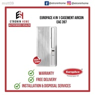 ㍿EuropAce 4 in 1 Casement Aircon EAC 397