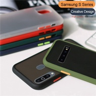 shockproof bumper armor case for samsung galaxy s20 ultra s10 s8 s9 plus note 10 lite a51 a71 a50 a30 a10 a20 a40 soft pc cover