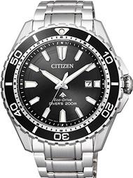 CITIZEN นาฬิกาข้อมือ PROMASTER Promaster PROMASTER Eco-Drive Marine Series 200M Diver BN0190-82E ผู้ชาย