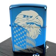 【Zippo】美系~Eagle and Flag-美國國旗鷹圖案設計打火機