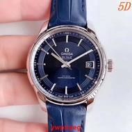 OMEGA/強歐米 蝶飛8900 明亮之藍精品手錶24小時出貨