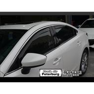[晴雨窗][崁入式]比德堡嵌入式晴雨窗 馬自達Mazda  All New Mazda6 Wagon 2017年後專用