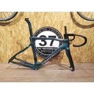 Pinarello F12 green 105-R7010 Carbon Wheelsets for MR.ZI