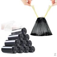 ❀⊕﹍抽繩垃圾袋垃圾袋家用手提式抽繩便捷垃圾袋加厚批發廚房濕垃圾袋垃圾袋 塑料袋 一次性 黑色垃圾袋 點斷式垃圾袋 大型