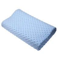 The Memory Foam Care New Pillow 3-color Orthopedic Fiber Latex NeckPillow Slow Recovery Memory Foam Cervical Pillow Therapy - intl