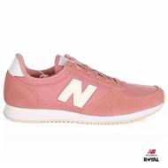 New Balance 新竹皇家 520 粉紅 輕量 麂皮 復古休閒鞋 女款 NO.I8326