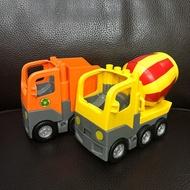 [二手]樂高 得寶 LEGO DUPLO 水泥車和垃圾車 合售