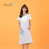 【Dailo】背部交叉綁帶女無袖-洋裝(二色/版型適中)
