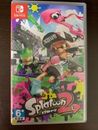 中古 Ns Switch 漆彈大作戰2 Splatoon 2 日版日文 美版英文