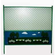 衛工圍籬 /乙種圍籬/彩繪圍籬/施工圍籬/安全圍籬/工程圍籬 含石墩