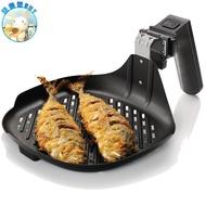 PHILIPS飛利浦 健康氣炸鍋專用煎烤盤HD9910~適用HD9220、HD9230