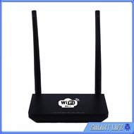 [Smart Life ] 4G LTE Wifi Router 300Mbps Wireless Router with SIM Card Slot Black