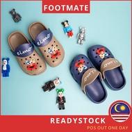 [Shop Malaysia] Footmate Crocs Shoes Boys Crocs Shoe Baby Crocs Sandal Kids Cros Sandal Crocs Budak Lelaki