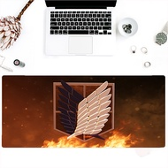 Attack On Titan Spot goods large size mouse pad oversized keyboard pad game mousepad