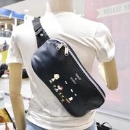 NekokissBag anello x Peanuts Snoopy Crossbody PU leather ของแท้100% กระเป๋าคาดอก กระเป๋าคาดเอว รุ่นหนัง PU