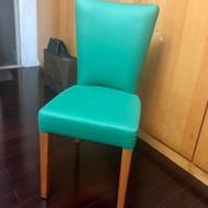 二手美式復古實木餐椅/餐桌椅/簡餐椅