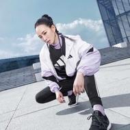 小小尖兵專業代購 adidas 愛迪達 白紫 防風 連帽外套 張鈞甯 代言款  FM9322 限時優惠 FM9322