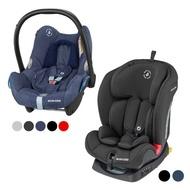 荷蘭 MAXI-COSI Titan 嬰幼兒童成長型汽座+MAXI-COSI CabrioFix 新生兒提籃