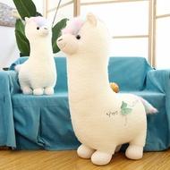 😍現貨😍創意草泥馬大羊駝公仔布娃娃毛絨玩具少女布娃娃可愛抱枕玩禮物女孩
