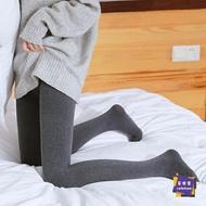 絲襪 顯瘦腿300D高彈力壓力連褲襪女春秋季中厚款打底襪灰色絲襪煙灰色