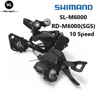 Original  Shimano  Deore M6000 3×10 Speed Groupset RD-M6000 Rear Derailleur SL-M6000 Shifter