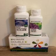 安麗/紐崔萊/DOUBLE X補充包 /蔬果綜合營養片/綜合維他命 加美D鈣片 復合魚油 倍欣A 高效B 長效C