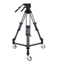 【環球影視】Libec LX10 Studio 三腳架雲台套組 含滑輪套組