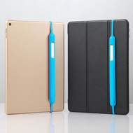 Silicone Shock Proof Protective Case Holder Sleeve Cover Pouch with Elastic Strap Compatible with Apple iPad Pro Pencil Pen 1nd 2nd