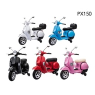 Vespa PX150 偉士牌兒童電動機車/電動摩托車/電動車玩具