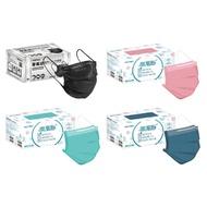【現貨 直接下標】MOTEX 摩戴舒 雙鋼印 醫療口罩 平面成人口罩 醫療用口罩 黑色/紫色/藍色/粉紅 (50入/盒)