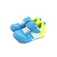 MoonStar 運動鞋 機能鞋 魔鬼氈 藍/黃 中童 童鞋 MSC2121G9 no353