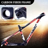 Y1ZJ Full Carbon Suspension Bike Frame 26/27.5 MTB Carbon Fiber Suspension Mountain Bikes Travel Bicycle Frame &SG