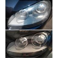 大燈快潔 福斯 VW Touran Tiguan Sportsvan Sharan 原廠大燈泛黃霧化拋光翻新處理
