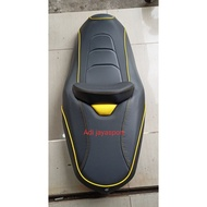 Seat Xmax 250cc Custom Black Yellow Combination Xmax Accessories