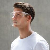 face shield 透明全臉護目鏡男防霧彩色防飛濺女太空面罩蘋果面罩