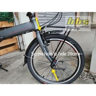"20"" touring FRONT rack For Folding bike Dahon Tern Java XDS"