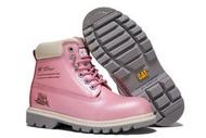 CAT 卡特女鞋高幫工裝鞋 頂級戶外防水運動鞋 女靴子 登山鞋 馬丁靴