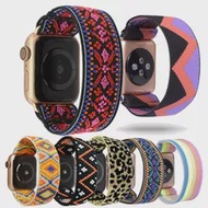 Scrunchie สำหรับ Apple Watch Band 40มม.44มม.42มม.38มม.Iwatch ผู้หญิงสร้อยข้อมือ Apple Watch Series 5 4 3 SE 6