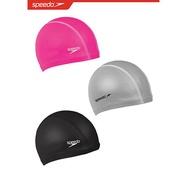 SPEEDO成人 進階型 合成泳帽 Pace- SD872064----0001黑/1341粉/1731銀 三色可選[陽光樂活]