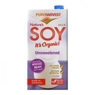 澳洲【PUREHARVEST】有機無糖豆奶 (1000ml/瓶)