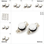 Low price 2Pcs 10A 250V KSD301 30C~160C Thermostat Temperature Thermal Control Switch